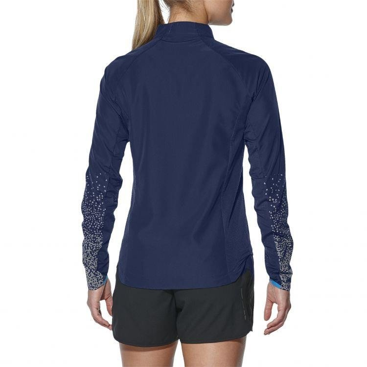 Asics Lite-Show Jacket - women's jacket speed (blue)