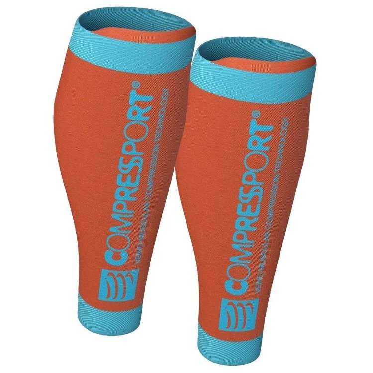 Compressport R2 V2 - calf compression band (orange)