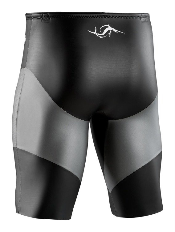 Current Max sailfish - neoprene shorts for men (black and gray)