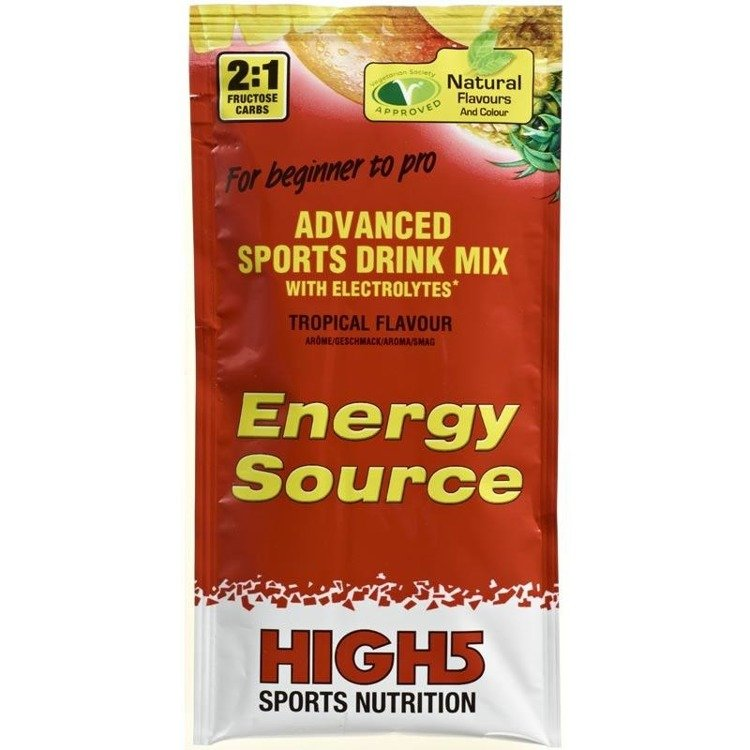 High5 Energy Source 47g - carbohydrate drink (tropical)