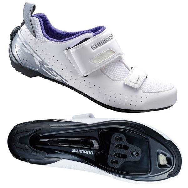 Shimano SH-TR500 - women's shoes triathlons (white)