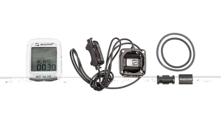 Sigma BC 14.12 ALTI - bike computer wired (14 functions)