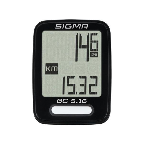 Sigma BC 5.16 - bike computer wired (5 functions)