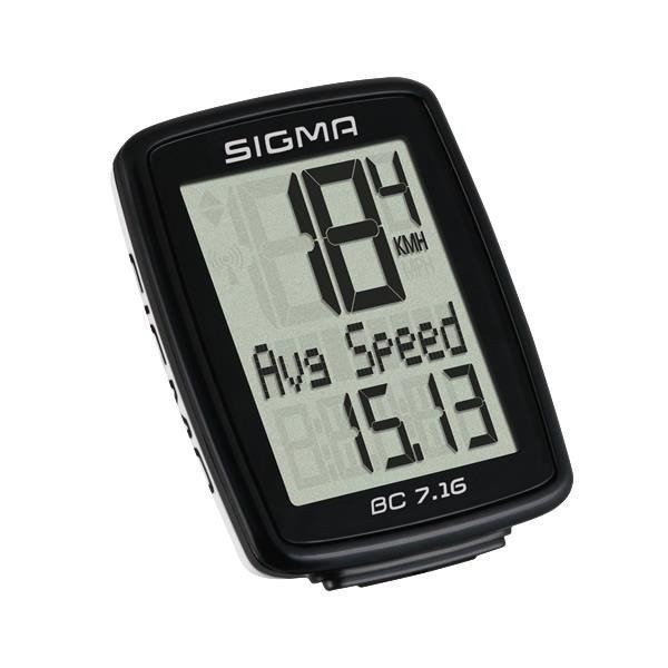 Sigma BC 7.16 - bike computer wired (7 functions)