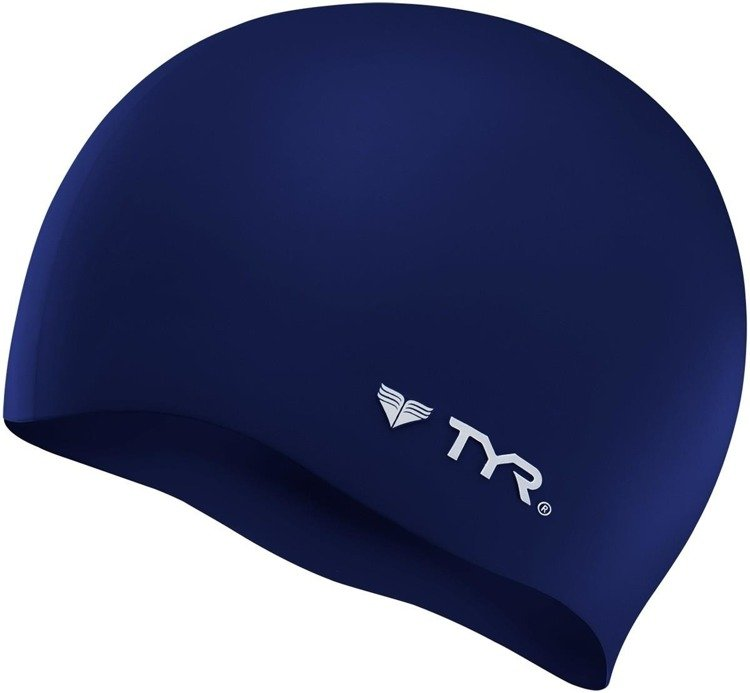 Tyr Wrinkle-Free - Swimming cap (navy blue)